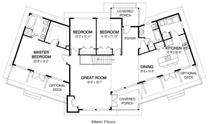 Albion Modern Architectural Home Plans