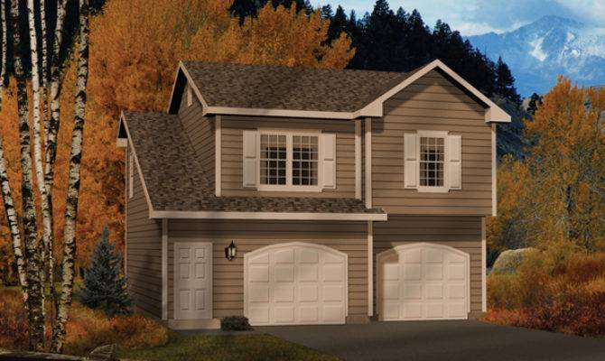 Alec Two Car Apartment Garage Plan House Plans