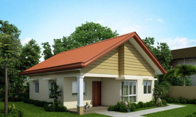 Alexa Simple Bungalow House Pinoy Eplans Modern Designs