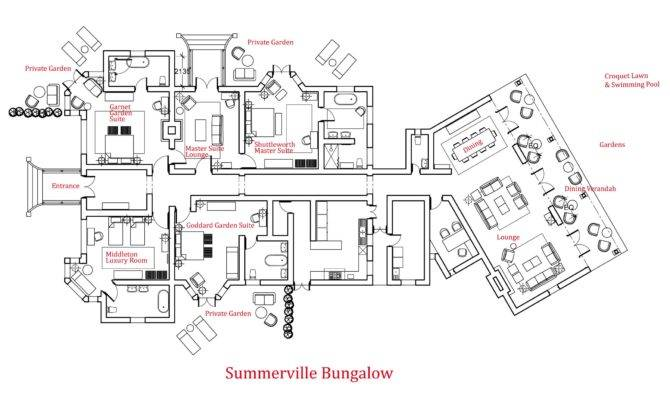 All Bungalow Floor Plan