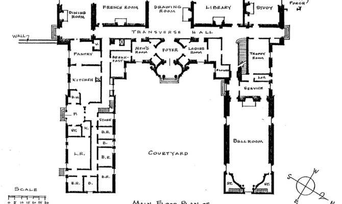 All Design Filoli Floorplan House Plans 74689