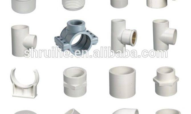 All Types Pvc Pipe Fittings Names Water Discharge