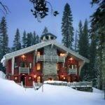 Alpine Ski Chalet John Malick Associates