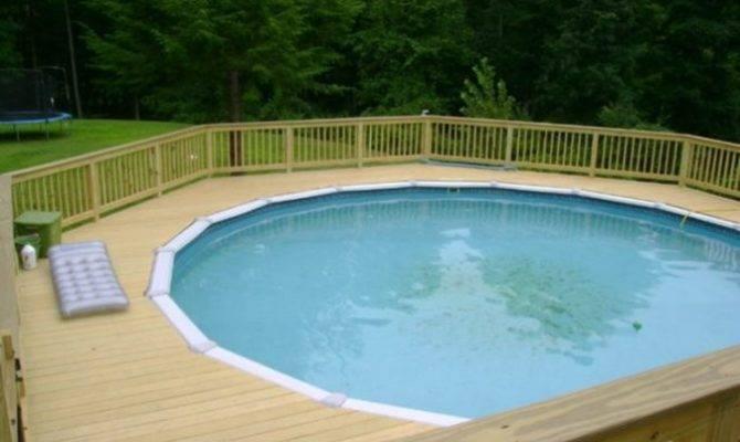 Amazing Above Ground Pool Ideas Design