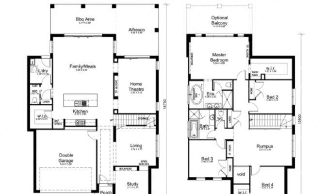 Amazing Bedroom House Designs Perth Double Storey Apg