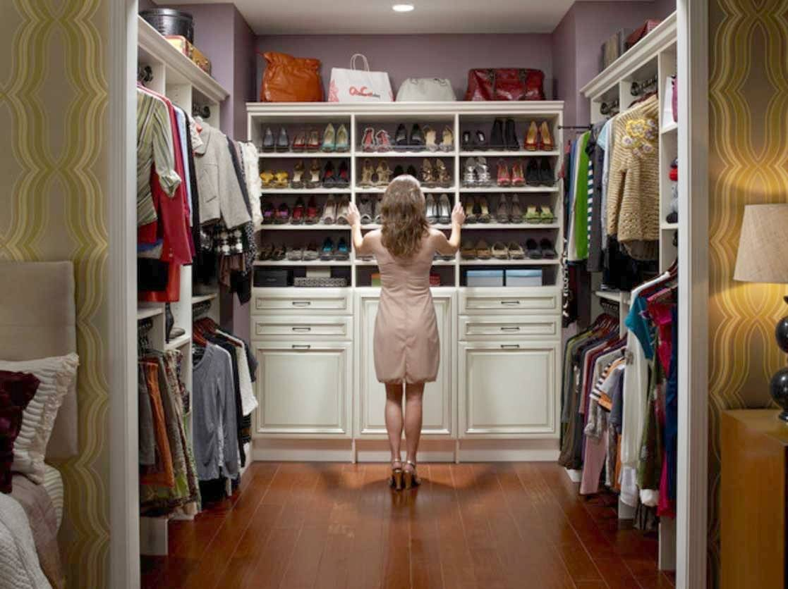 Amazing Closet Organizer Ideas Small Walk Closets House Plans 156264,House Designs Pictures Gallery