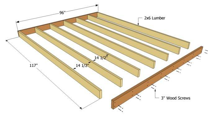 Amazing Deck Plans Shed Floor