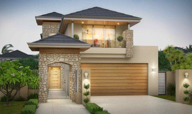 Amazing Double Storey Home Fit Narrow Lots