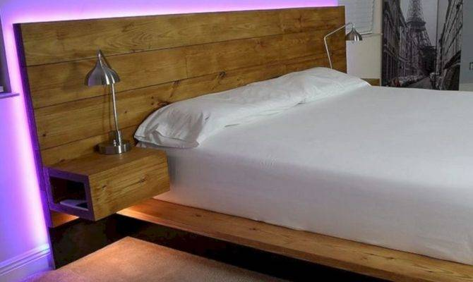 Amazing Floating Bed Design Ideas Cozy Sleeping