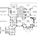 Amazing Floor Plans Mansions English Style