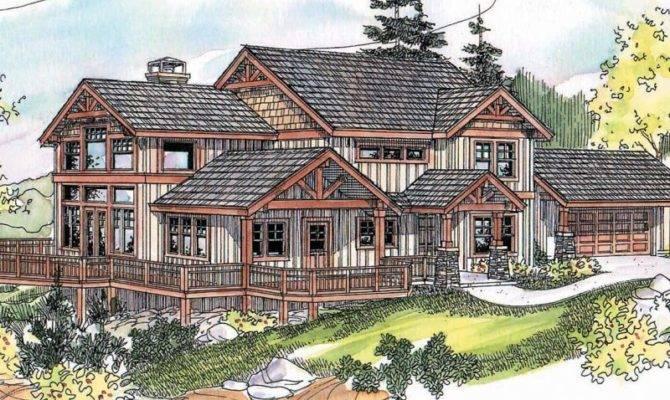 Amazing Hillside House Plans Sloping Lots Danutabois