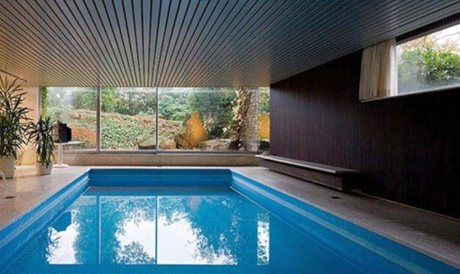 Amazing Homes Indoor Pool Modern Architecture Ideas