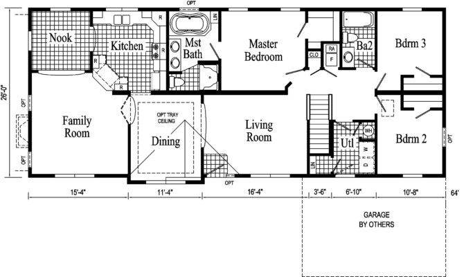 Amazing House Plans Ranch Style Floor Plan