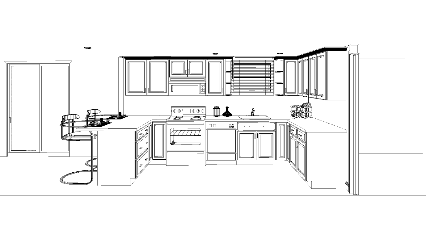 Amazing Kitchen Layout Have Layouts   House Plans   9