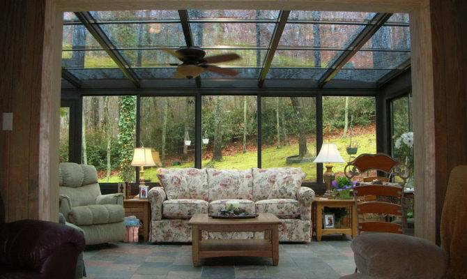 Amazing Landscape Sun Room Desaign Beautifull