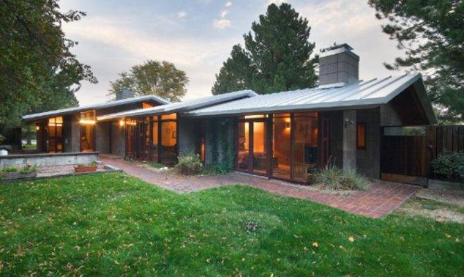 Amazing Modern Ranch Style House Plans Atomic Mid
