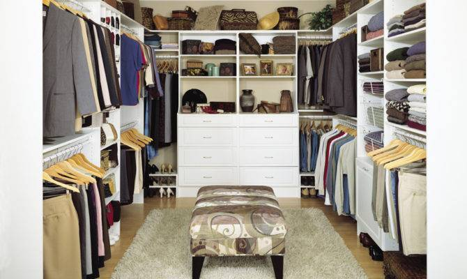 Amazing Modern Walk Closet Design White Wardrobe Wooden Style Floor