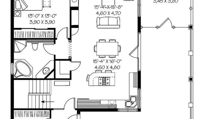 Amazing One Bedroom House Plans Print Floor Plan
