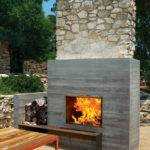 Amazing Outdoor Fireplace Designs Part Style Estate