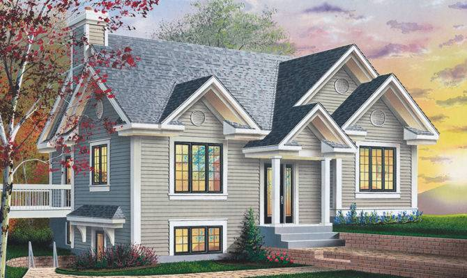 Amazing Sloped Lot House Plans