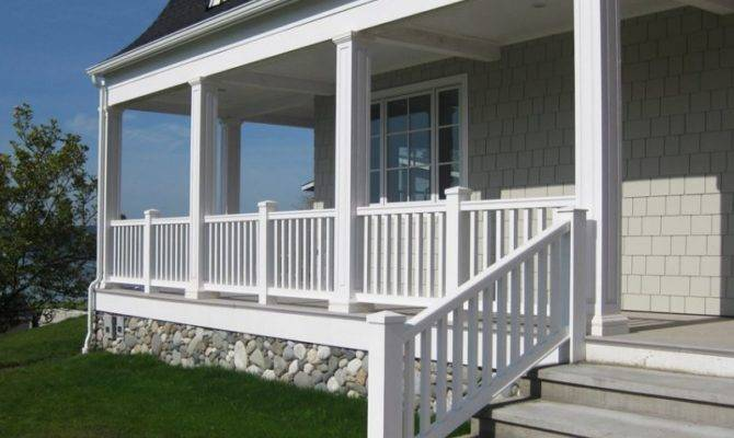 Amazing Square Porch Columns Architecture Plans