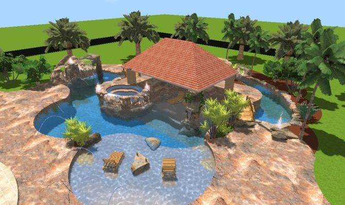 Amazing Swimming Pool Design Ideas House Plans 7604