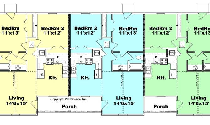 Amazing Triplex House Plans Floor