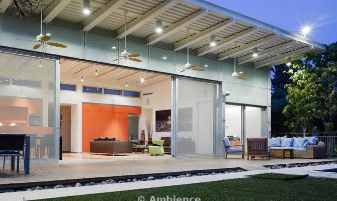 Ambience Modern Suburban Single Storey House Verandah