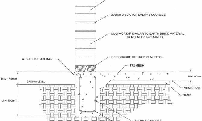 Amcer Earth Brick Technology Construction Details