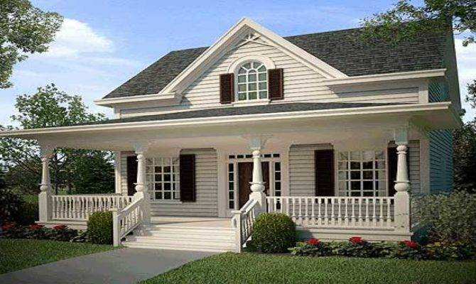 American Country House Design Creative Home