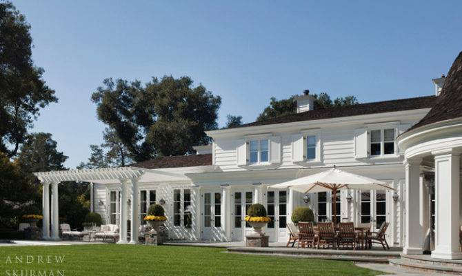 American Country House Traditional Exterior San