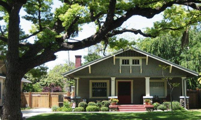American Craftsman Bungalow Style Simple
