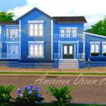 American Dream Home Hazelsims Sims Resource