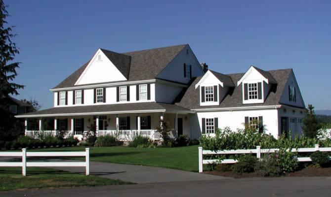 American Farmhouse History House Plans More
