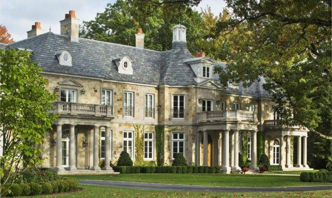 American French Country Home Wadia Associates