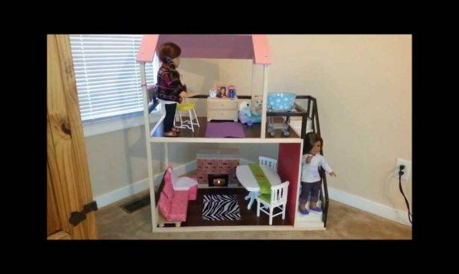 American Girl Doll House Tour Youtube