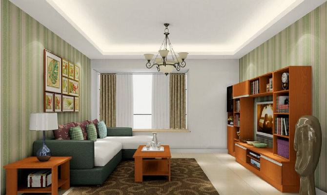 American House Design Living Room Interior