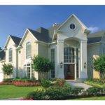 American House Plan Distinctive Roof Lines Square Feet