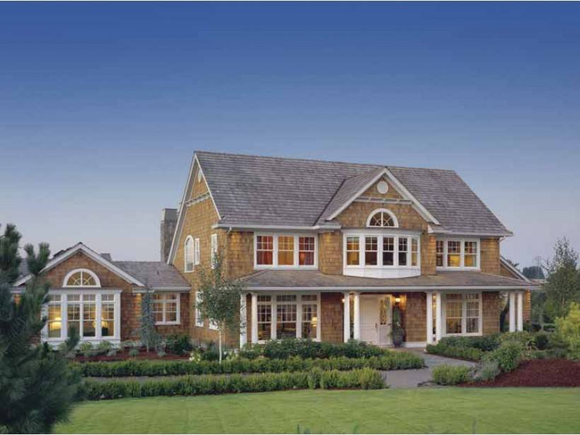 American Suburban House Plans Two Story House Plans 82445