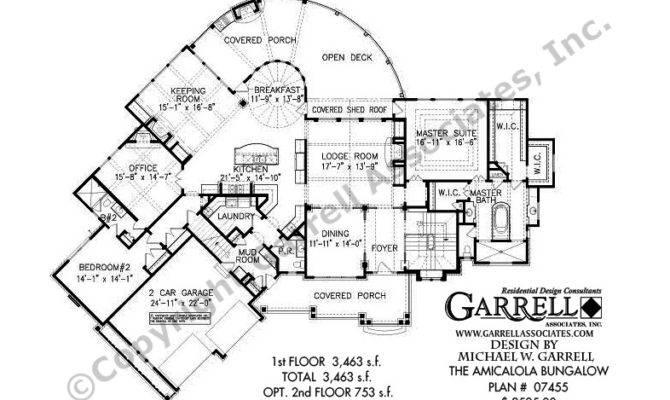 Amicalola Bungalow House Plan Craftsman Style Plans