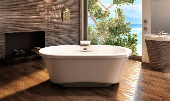 Amma Oval Freestanding Tub Narrow Base