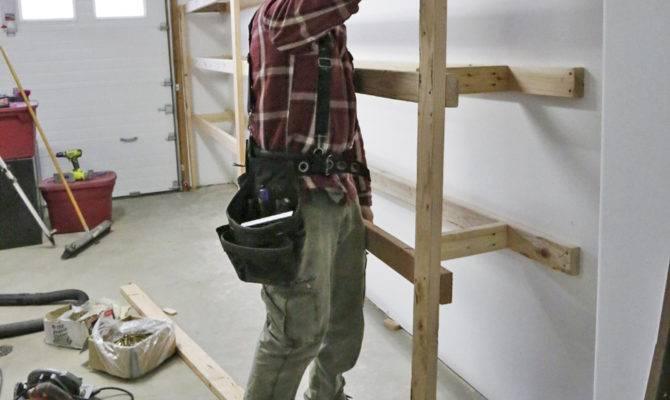 Ana White Easy Fast Diy Garage Basement Shelving