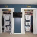Ana White His Hers Closet Laundry Basket Dressers