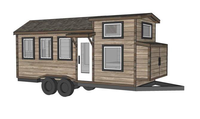Ana White Tiny House Plans Quartz Model