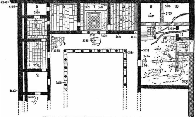 Ancient Greek House Plans Home Plan Collections