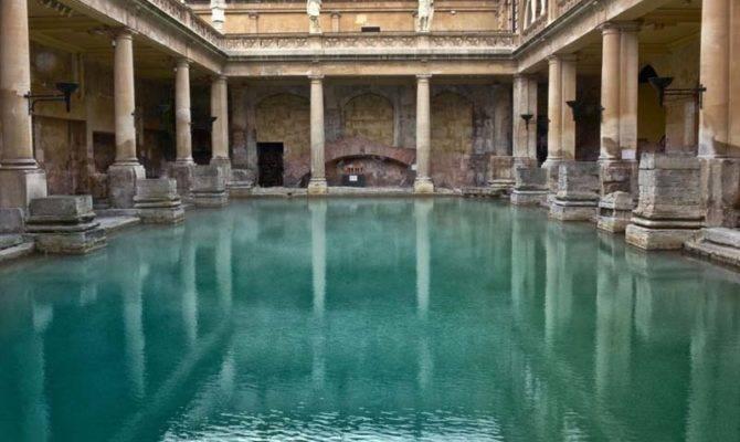 Ancient Roman Baths Thermae Caracalla Diocletian