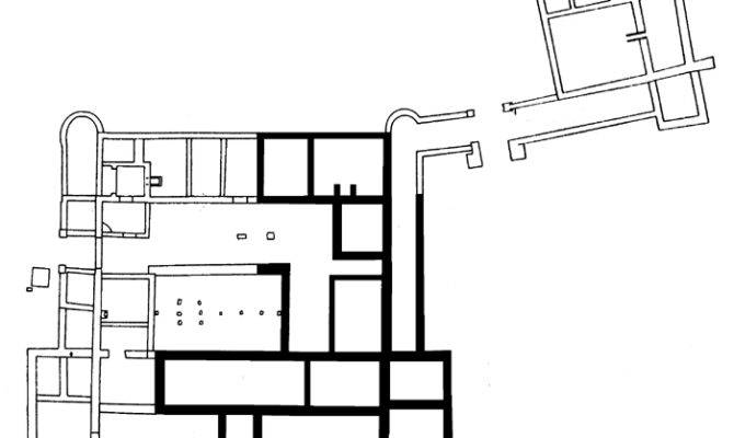 Ancient Roman Villa Rustica Floor Plan Open Air Museum Hechingen