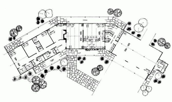 Angled House Plans