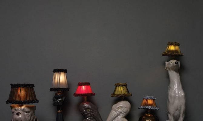 Animal Inspired Lamps Exude Glamor House Plans 90697