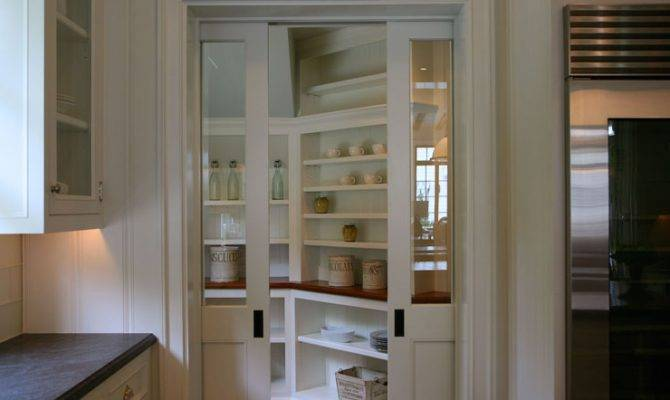 Another Cool Walk Pantry Just Off Kitchen Would